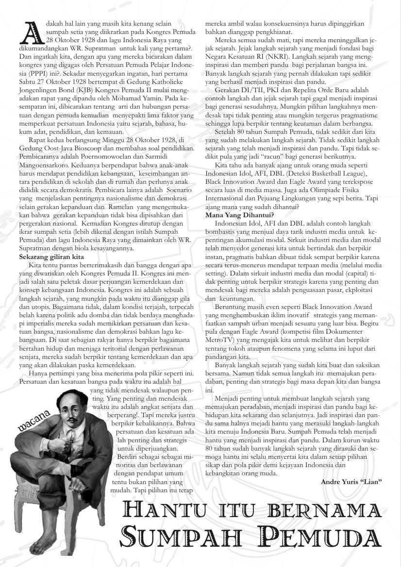 iHantui itu Bernama Sumpah Pemuda Komkepsurabaya s Weblog